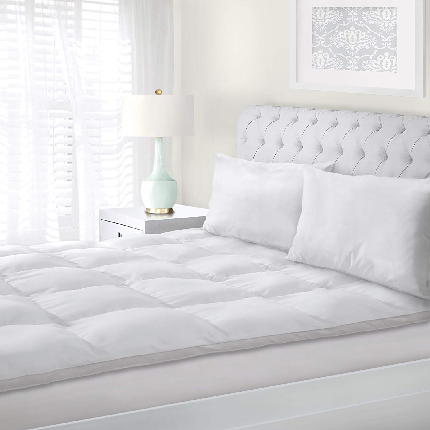 Superior Feather Mattress Topper Review by www.snoremagazine.com
