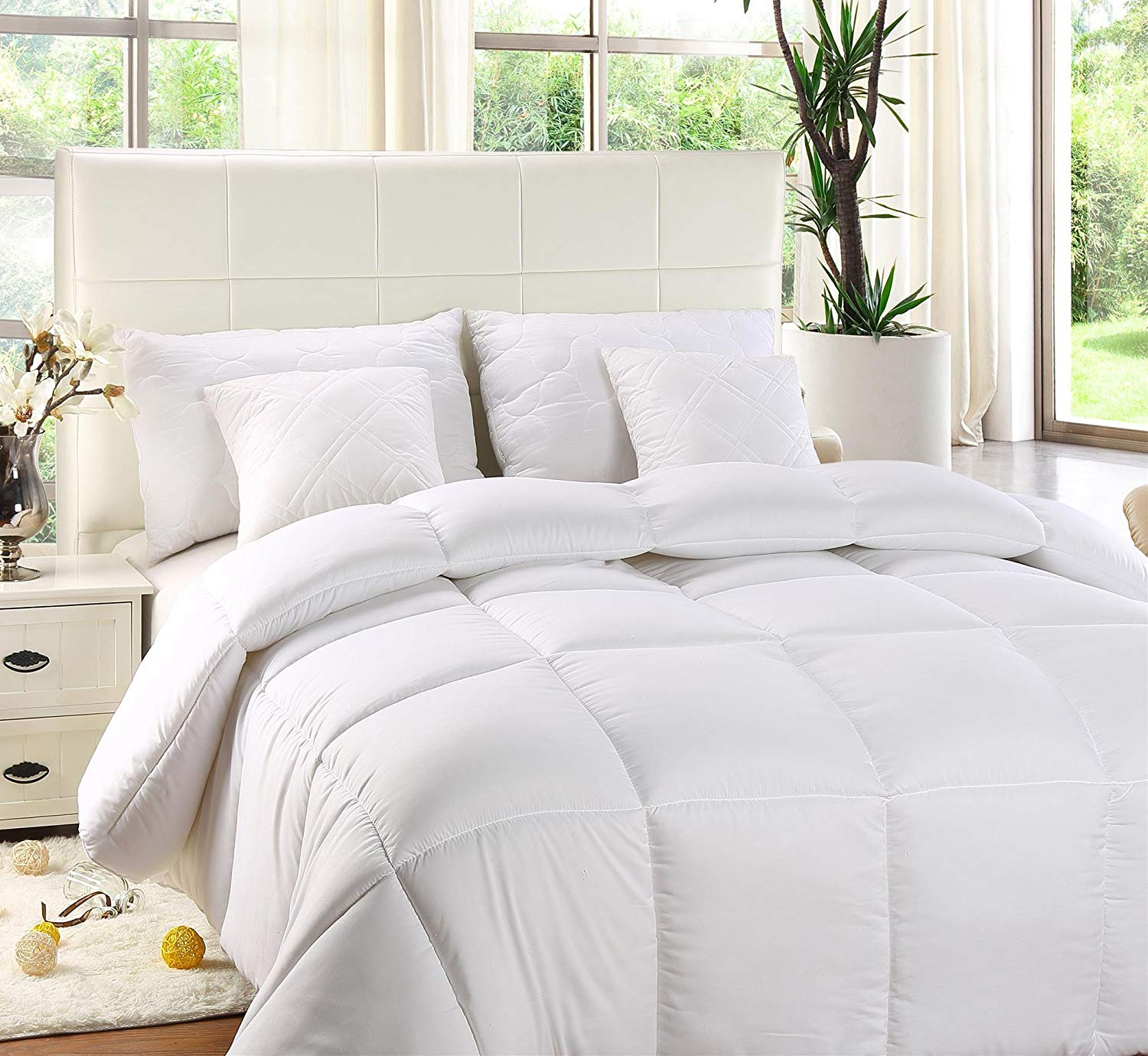 Utopia Bedding Best Comforter Review by www.snoremagazine.com