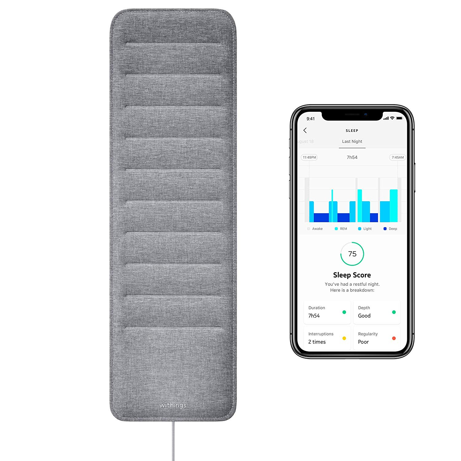 Withings Best Sleep Tracker Review by www.snoremagazine.com