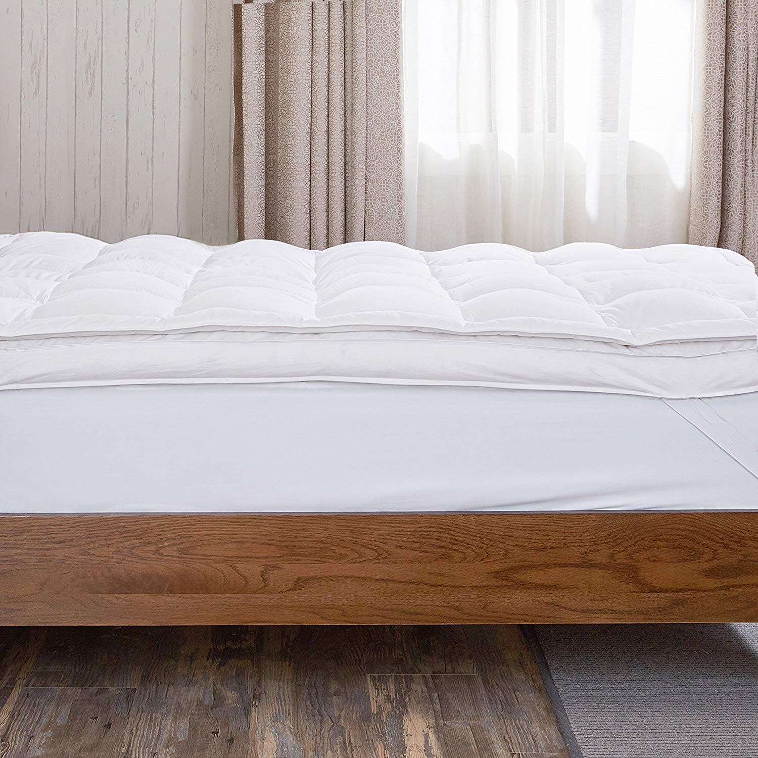 puredown Feather Mattress Topper Review by www.snoremagazine.com