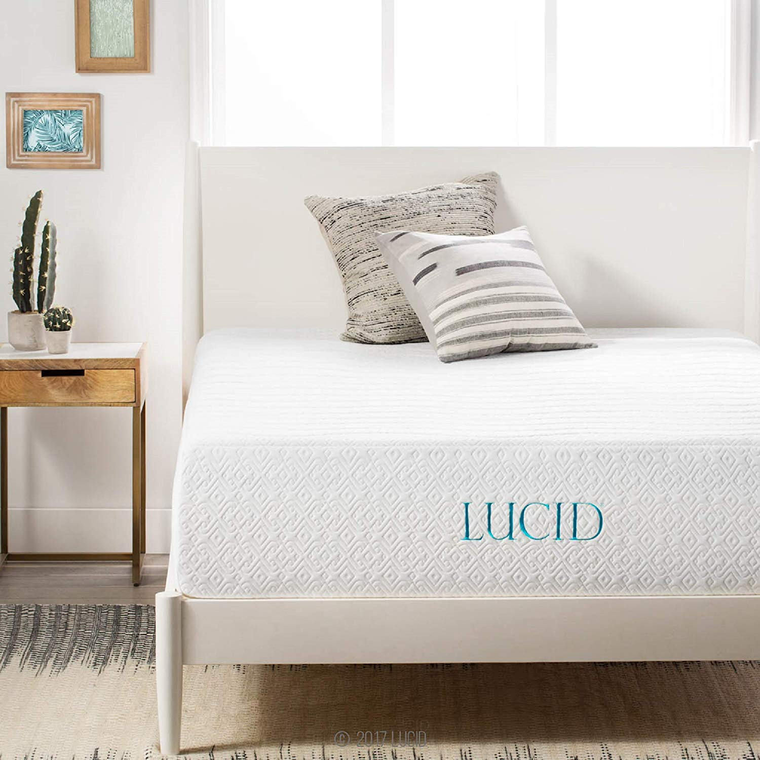 14 Inch Medium-Plush Memory Foam Lucid Mattress Reviews by www.snoremagazine.com